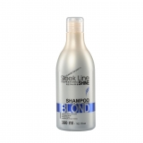 "Silk shampoo ""SLEEK LINE"" BLOND"