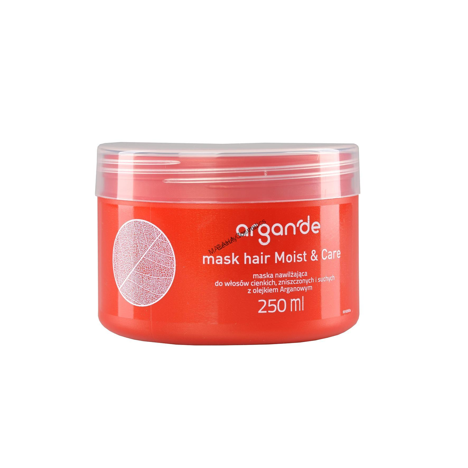"STAPIZ Moist&Care hair mask ""ARGAN'DE"""