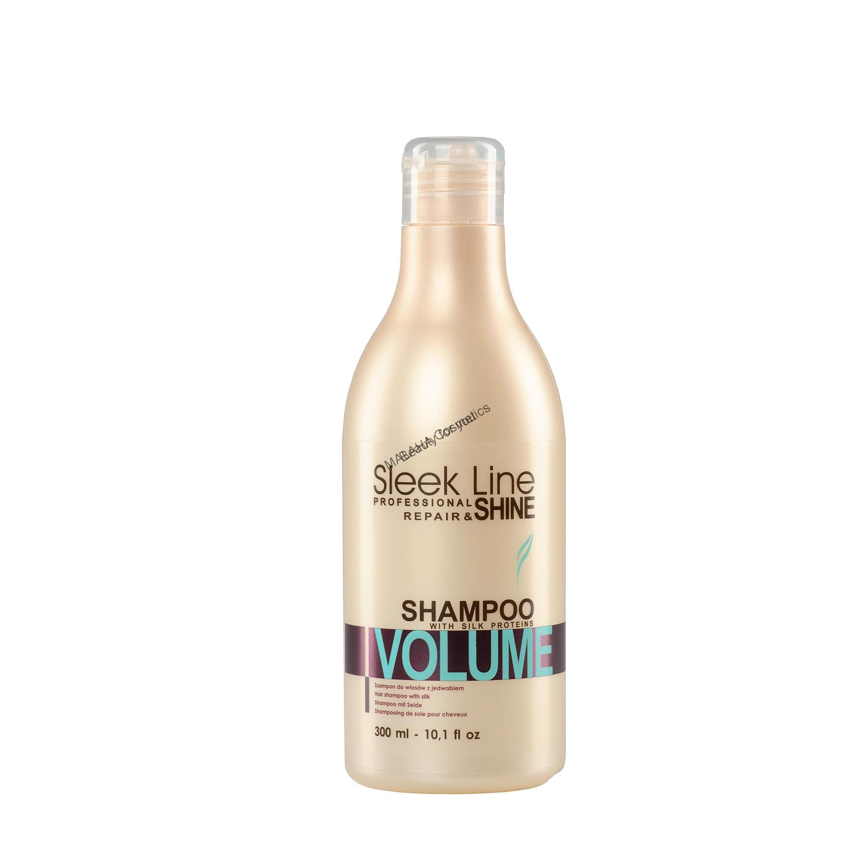 "Silk shampoo ""SLEEK LINE"" VOLUME"