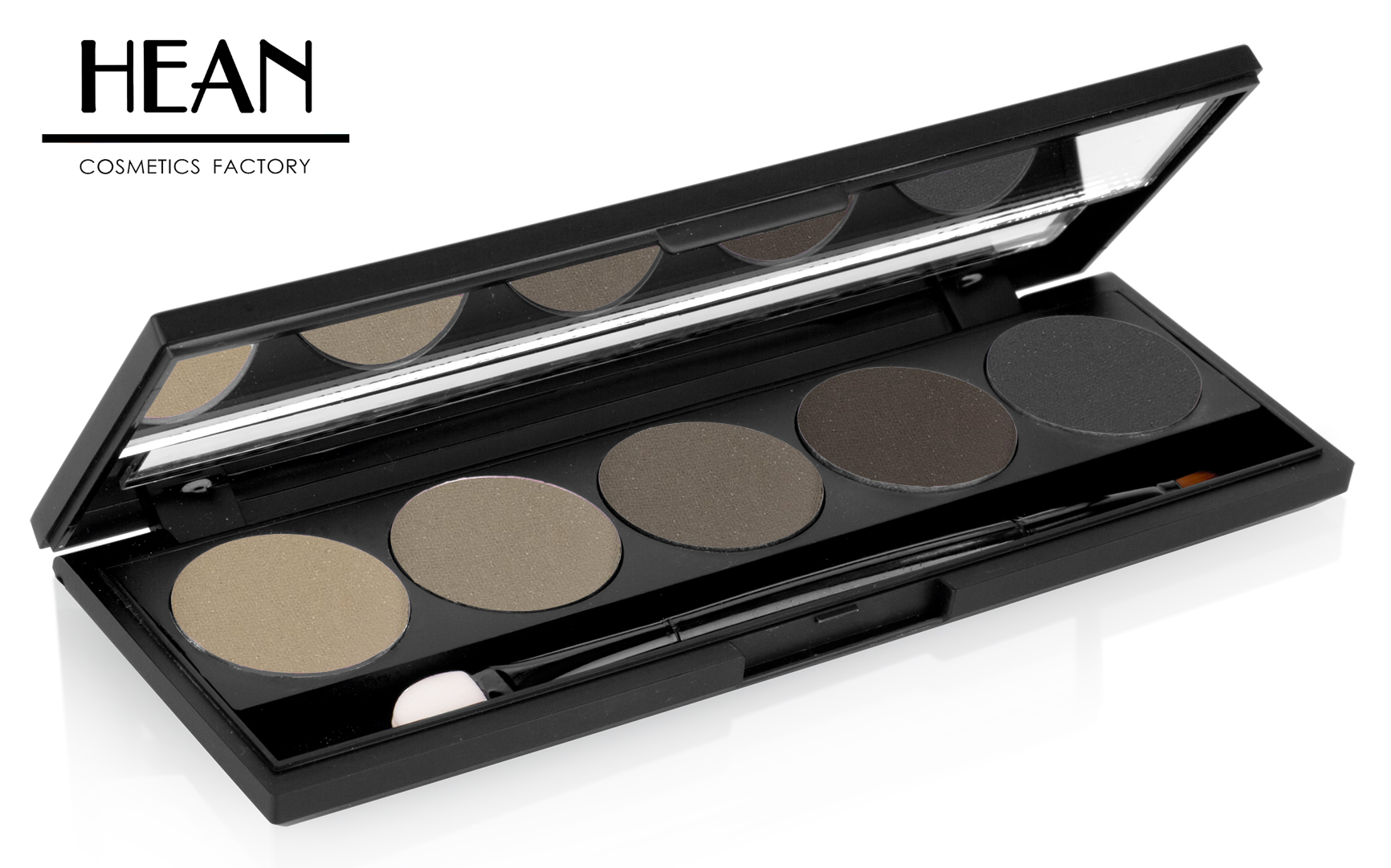 5 HD magnetic palette with HD refill eyebrow & eyeshadows
